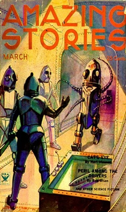 Amazing Stories March 1934