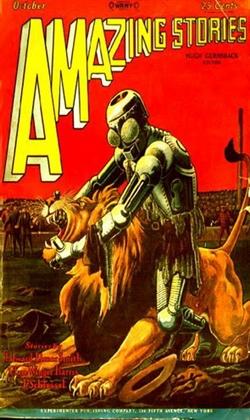 Amazing Stories October 1928