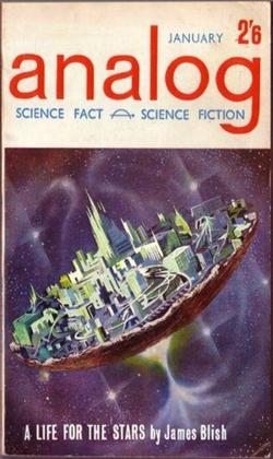 Analog Science Fact Science Fiction January 1962