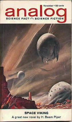 Analog Science Fact Science Fiction November 1962