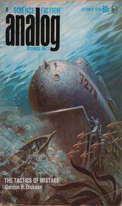 Analog Science Fiction Science Fact October 1970