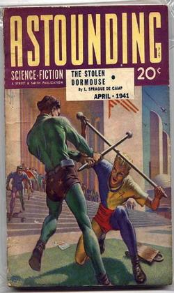 Astounding Science Fiction April 1941