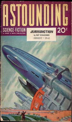Astounding Science Fiction August 1941