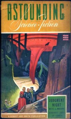 Astounding Science Fiction August 1943