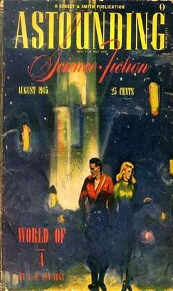 Astounding Science Fiction August 1945