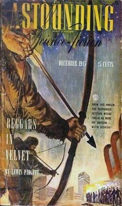 Astounding Science Fiction December 1945