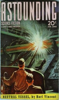 Astounding Science Fiction January 1940