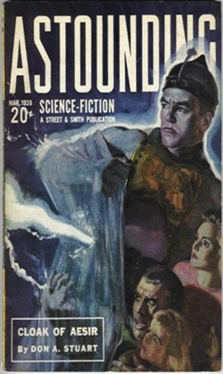 Astounding Science Fiction March 1939