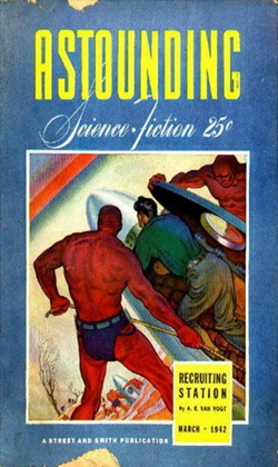 Astounding Science Fiction March 1942