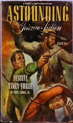 Astounding Science Fiction March 1945