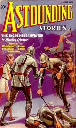 Astounding Stories August 1936