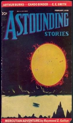 Astounding Stories February 1938