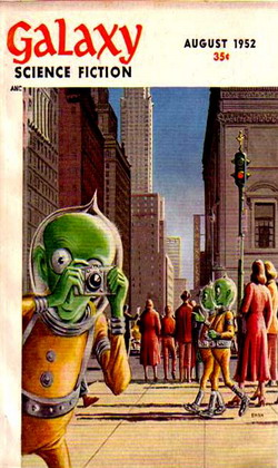 Galaxy Science Fiction August 1952
