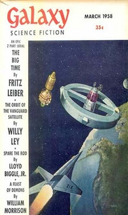 Galaxy Science Fiction March 1958