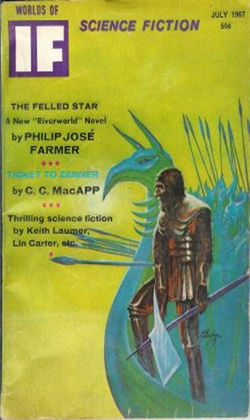 If Worlds Of Science Fiction July 1967
