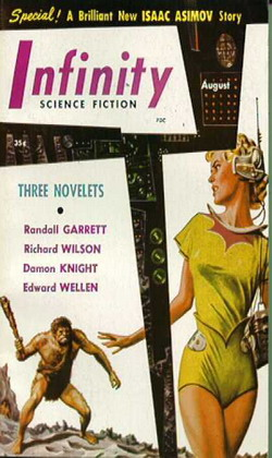 Infinity Science Fiction August 1956