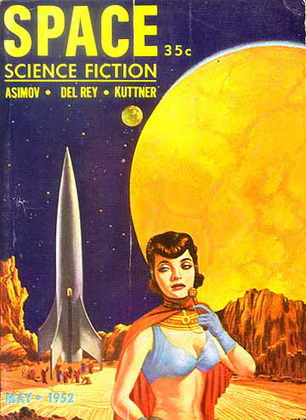 Space Science Fiction May 1952
