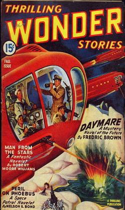 Thrilling Wonder Stories Fall 1943