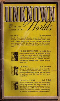 Unknown Worlds February 1943